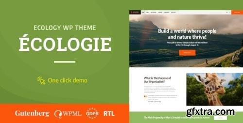 ThemeForest - Ecologie v1.0.4 - Environmental & Ecology WordPress Theme - 22601627