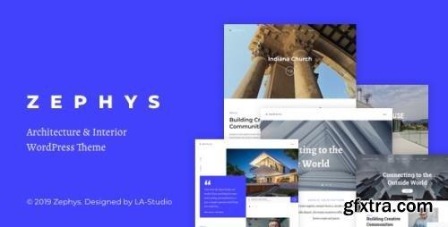 ThemeForest - Zephys v1.1.0 - Architecture & Interior WordPress Theme - 23979404