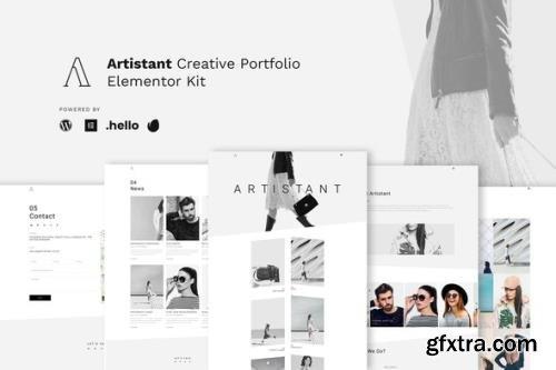 ThemeForest - Artistant v1.0.0 - Creative Photography Portfolio Elementor Template Kit - 31944548