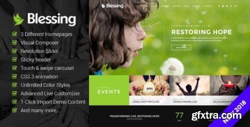 ThemeForest - Blessing v1.6.3.0 - Responsive WordPress Theme for Church Websites - 20514866