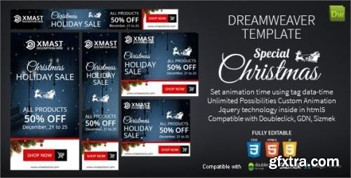 CodeCanyon - Special Christmas Dreamweaver Ads v1.0 - 17780649