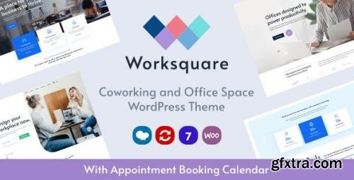 ThemeForest - Worksquare v1.5 - Coworking and Office Space WordPress Theme - 28044669