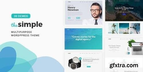 ThemeForest - The Simple v2.6.6 - Business WordPress Theme - 18406495