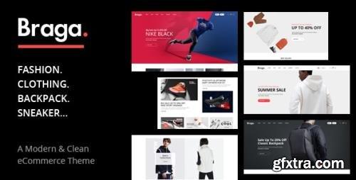 ThemeForest - Braga v1.0.4 - Fashion Theme for WooCommerce WordPress - 25982053