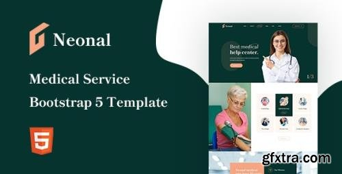 ThemeForest - Neonal v1.0 - Medical Service Bootstrap 5 Template - 31881404