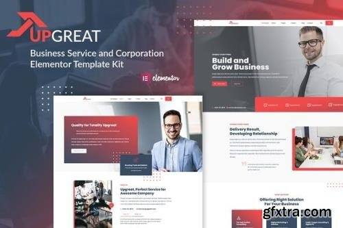 ThemeForest - Upgreat v1.0.5 - Business Service Corporate Elementor Template Kit - 31833785