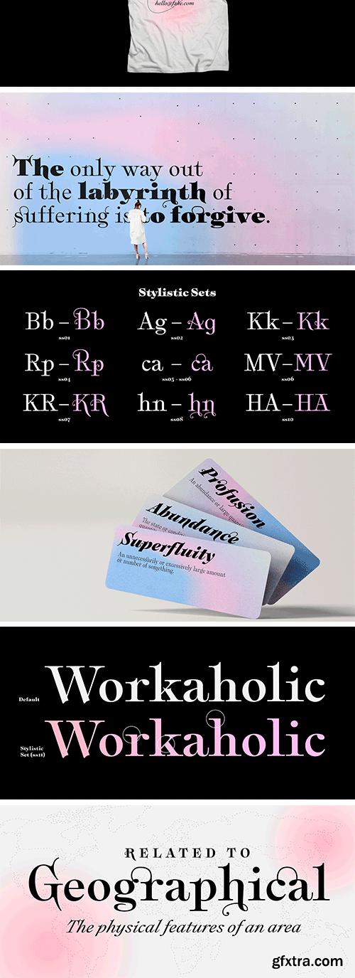 Plethora Font Family
