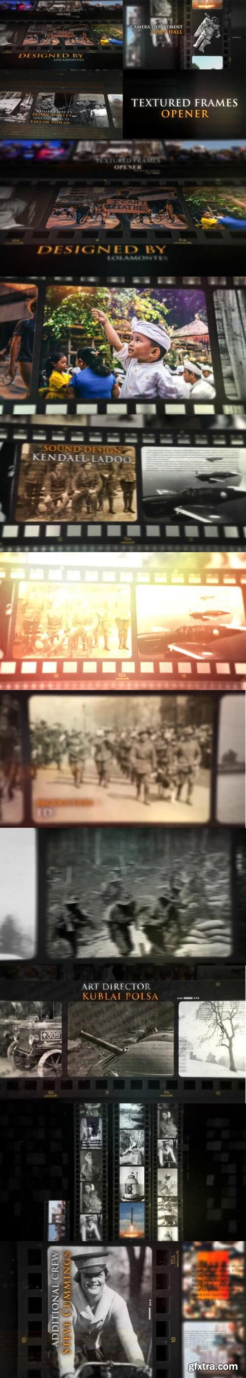 Videohive - Textured Frame - 31672307