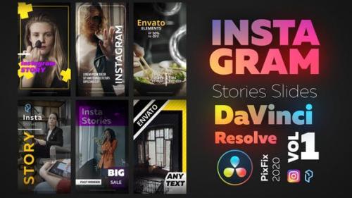 Videohive - Instagram Stories - DaVinci Resolve