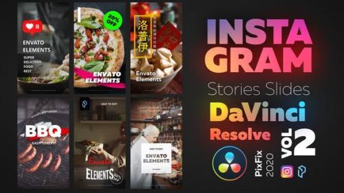 Videohive - Instagram Stories - DaVinci Resolve Vol.2