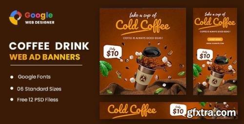 CodeCanyon - Coffee Google Adwords Banner Google Web Designer v1.0 - 31989261