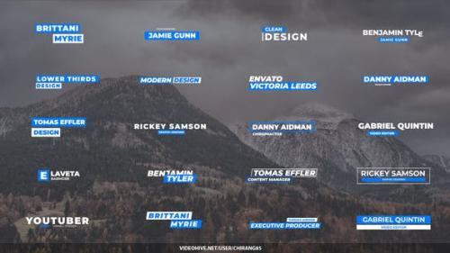Videohive - Minimal Lower Thirds for Premiere Pro