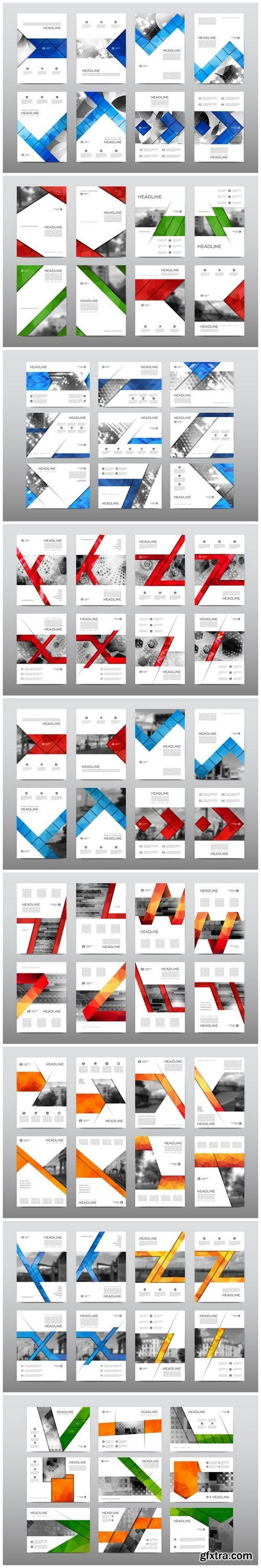 Business flyer and corporate template 2 - 9xEPS