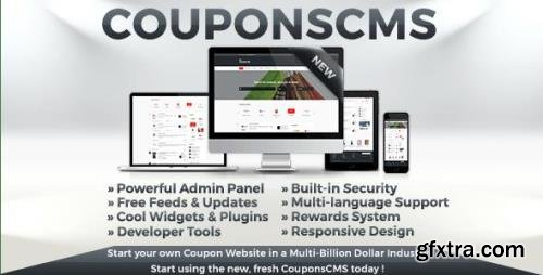 CodeCanyon - Coupons CMS v7.10 - 11686064