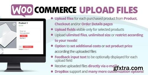 CodeCanyon - WooCommerce Upload Files v60.9 - 11442983 - NULLED