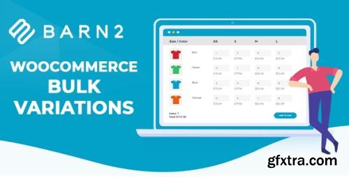 Barn2 - WooCommerce Bulk Variations v1.1.8 - NULLED