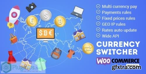 CodeCanyon - WOOCS v2.3.4.3 - WooCommerce Currency Switcher - WooCommerce Multi Currency and WooCommerce Multi Pay - 8085217
