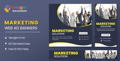 CodeCanyon - Marketing Banners Google Web Designer v1.0 - 32002389