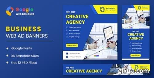 CodeCanyon - Business Banners Google Web Designer v1.0 - 32006545