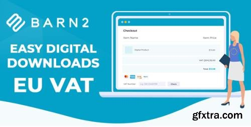 Barn2 - Easy Digital Downloads - EU VAT v1.4 - NULLED
