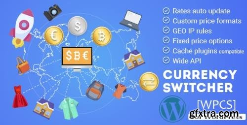 CodeCanyon - WPCS v2.1.7 - WordPress Currency Switcher - 17450674