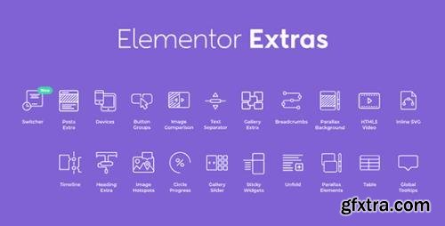 Elementor Extras v2.2.51 - Widgets & Extensions Carefully Crafted for Elementor - NULLED