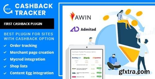 CodeCanyon - Cashback Tracker v1.6.6 - Wordpress Plugin - 24394236 - NULLED