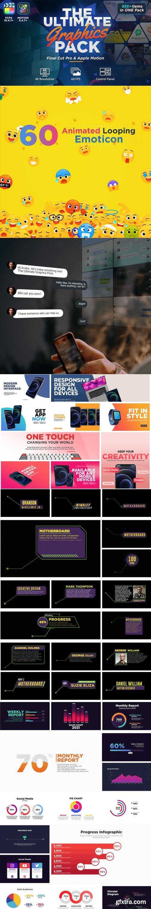 Videohive - The Ultimate Graphics Pack - Final Cut Pro X & Apple Motion - 31444521