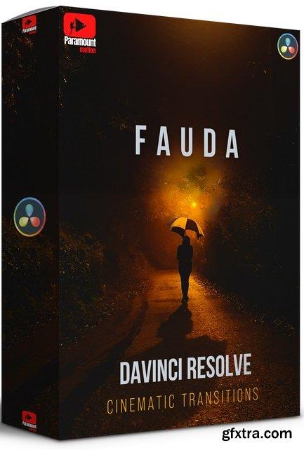 Paramount Motion - FAUDA DaVinci Resolve Transitions