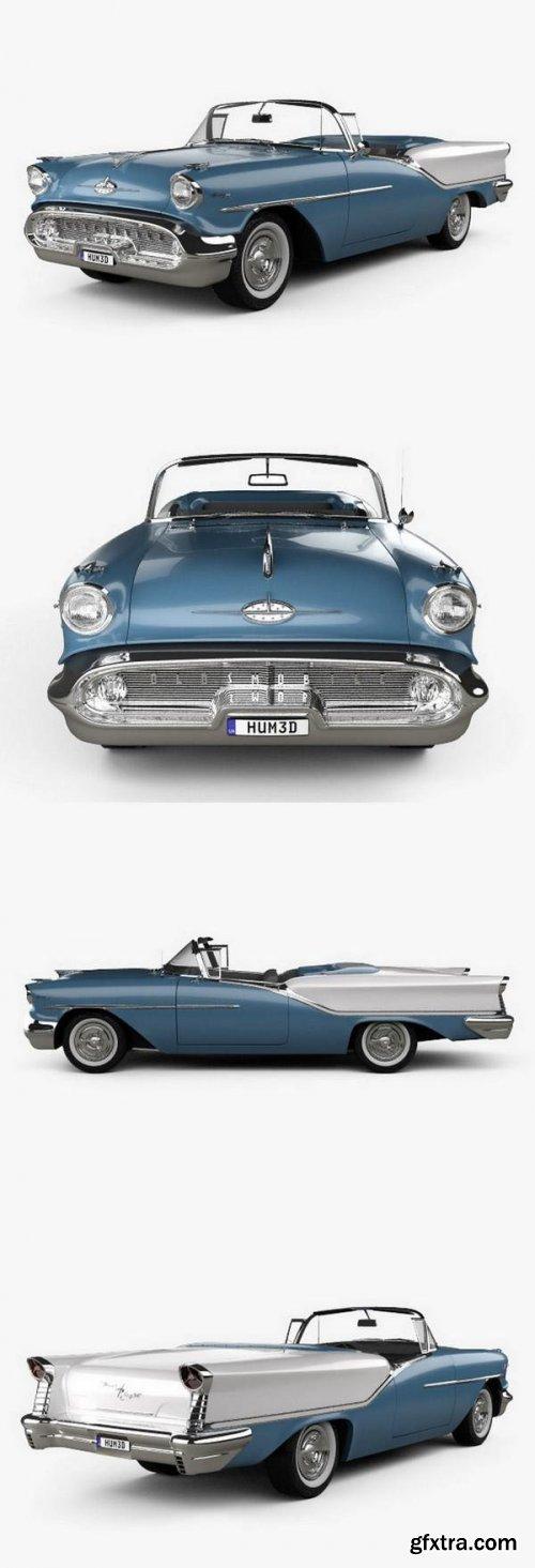 Oldsmobile Starfire 98 Convertible 1957