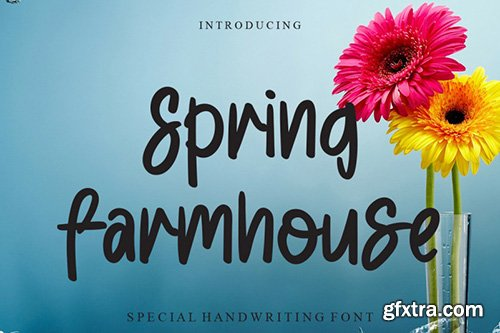 Spring Farmhouse Font