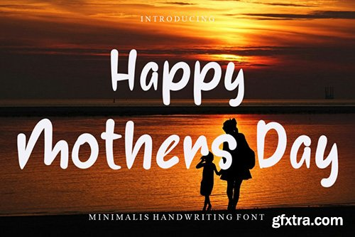 Happy Mothers Day Font