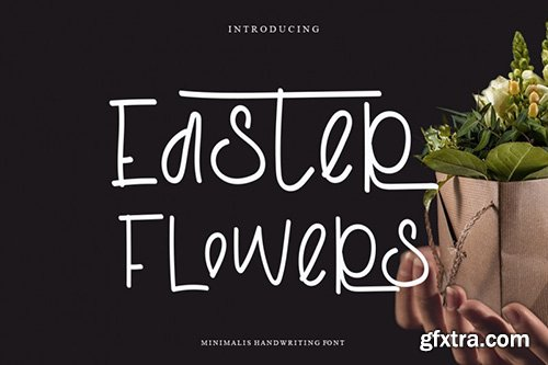 Easter Flowers Font
