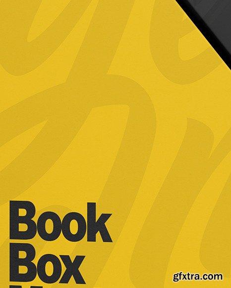 Set of Books in a Box Mockup 82537