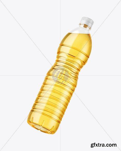 Sunflower Oil Bottle Mockup 82505