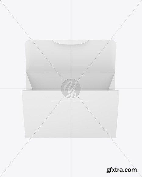 Opened Paper Envelope Mockup 82448