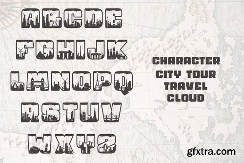 City Tour Font