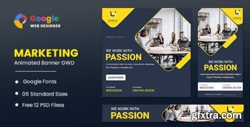 CodeCanyon - Marketing Animated Banner Google Web Designer v1.0 - 32028355