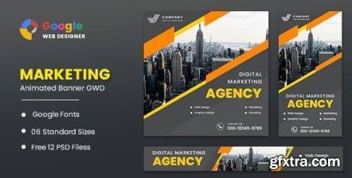 CodeCanyon - Marketing Animated Banner Google Web Designer v1.0 - 32039854