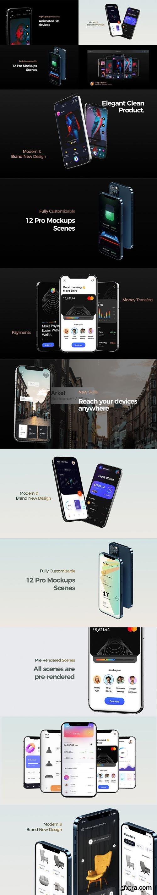 Videohive - Phone 12 App Promo - 31507049