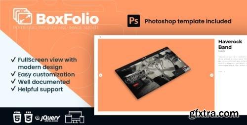 CodeCanyon - BoxFolio v1.1 - Project, Portfolio and Image Slider Plugin - 26314170
