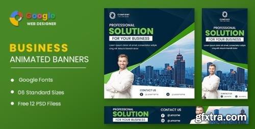 CodeCanyon - Business Animated Banner Google Web Designer v1.0 - 32062667