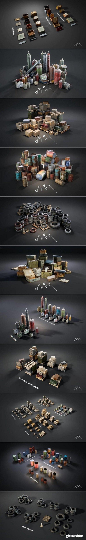 Unreal Engine - Defect Ultimate Props Bundle Vol.1