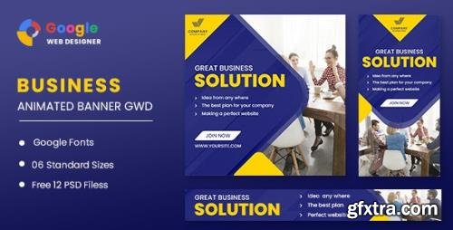 CodeCanyon - Business Solution Animated Banner GWD v1.0 - 32073614