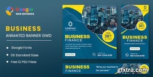 CodeCanyon - Business Finance Animated Banner GWD v1.0 - 32110323