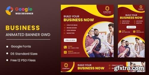 CodeCanyon - Business Animated Banner GWD v1.0 - 32110422