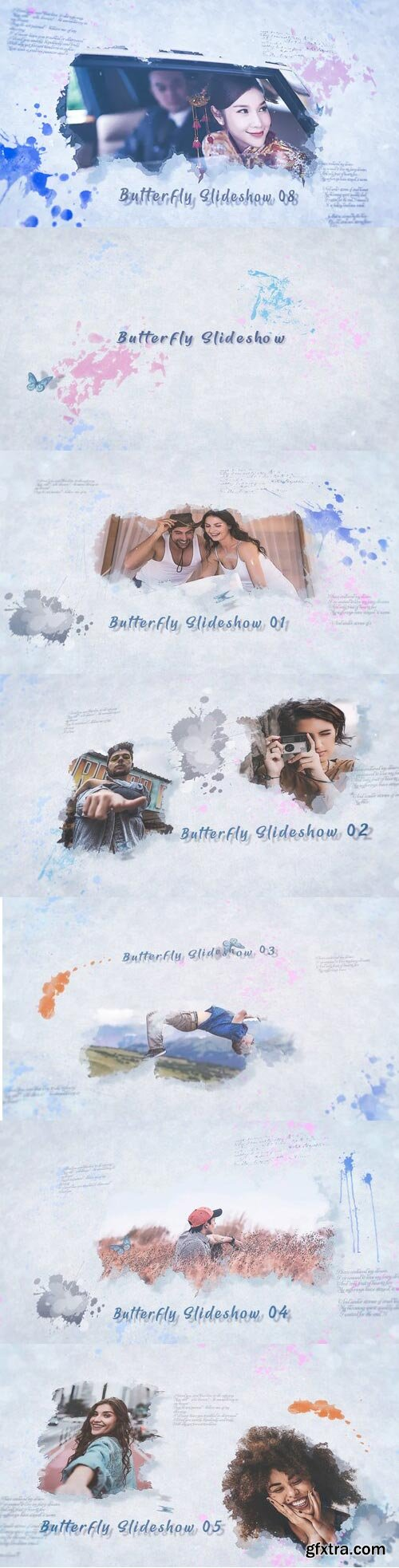 Videohive - Butterfly Slideshow - 31997826
