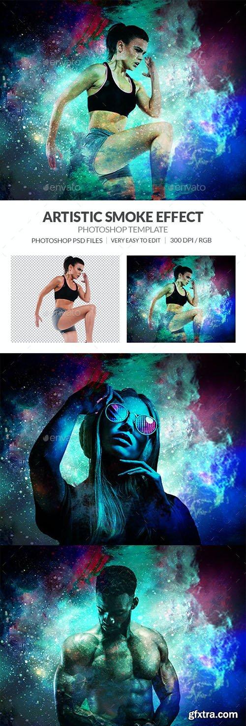 GraphicRiver - Artistic Smoke Photo Effect 31383331