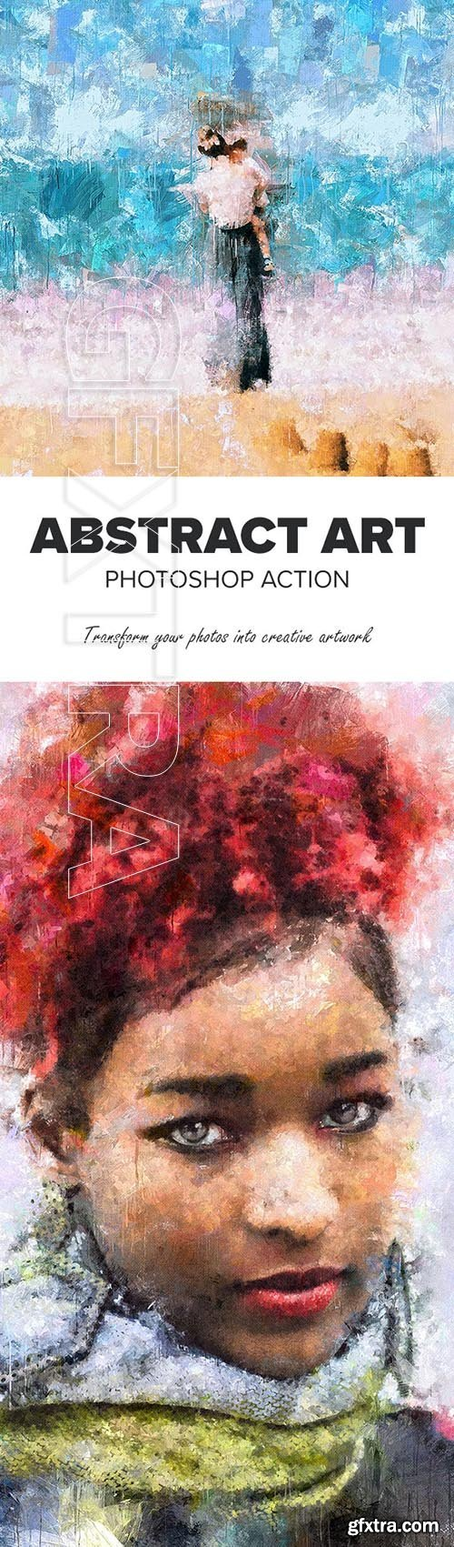 GraphicRiver - Abstract Art Photoshop Action 25712393