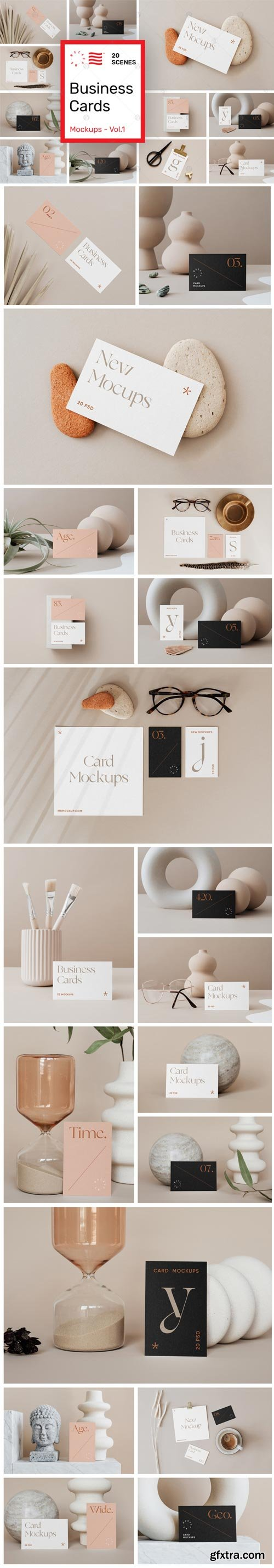 YellowImages - Business Card Mockups Vol.1 - 83760